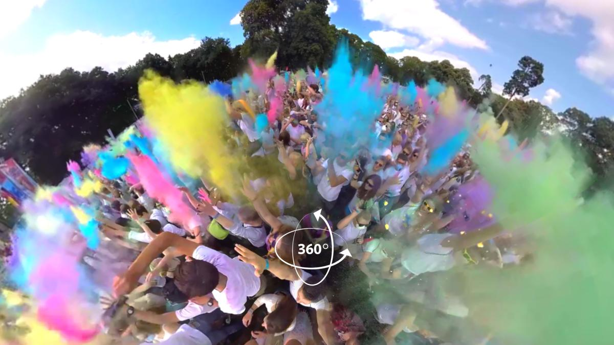 Dive into the sea of colors at Holi Festival
