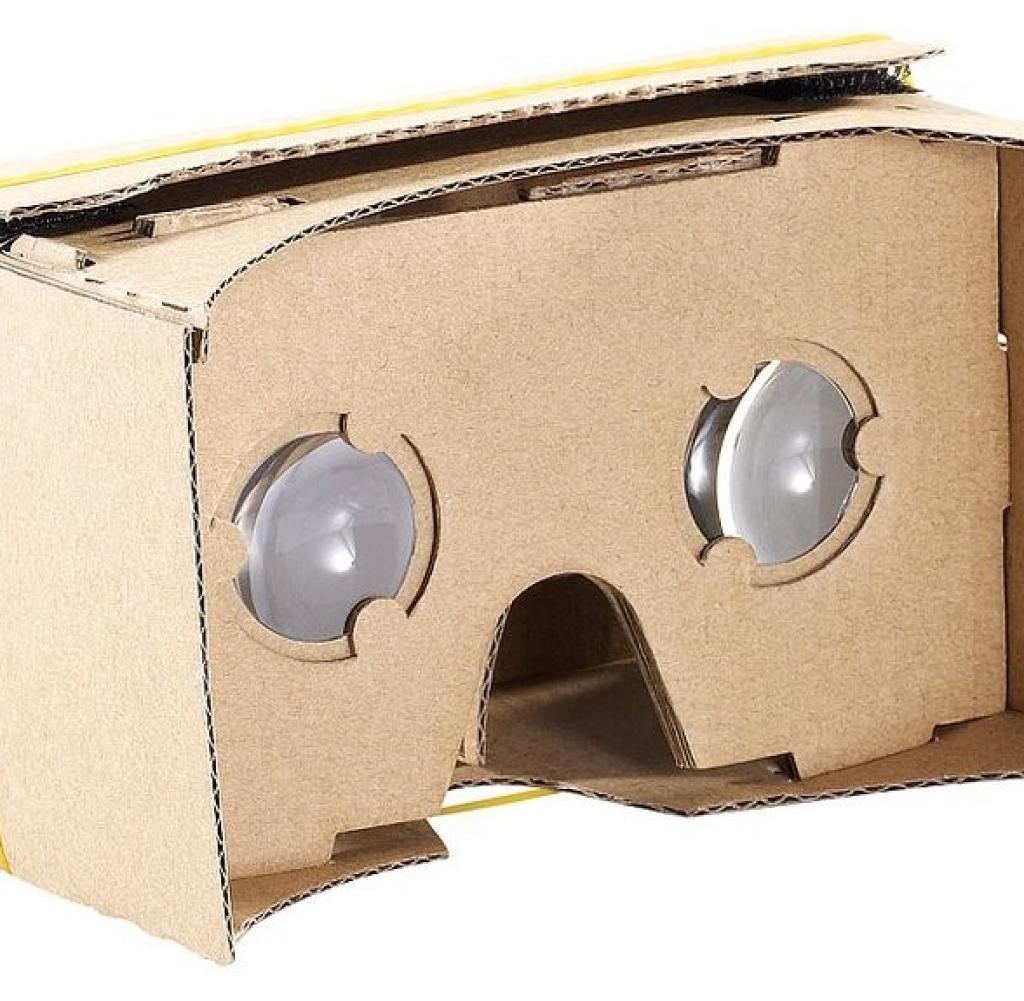 Pearl VRB50. 3D: As one of many providers, Pearl has a clone of Google Cardboard in its program. For around 7 euros, buyers are allowed to fold the cardboard glasses themselves. In the flap in front of the lenses fit smartphones with display sizes from 4 to 5 inches. If you need it bigger, you can get the glasses for devices from 5 to 5.5 inches for around eight euros.